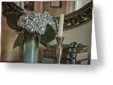 Hydrangea Still-life Greeting Card