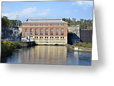 Hydroelectric Power Greeting Card