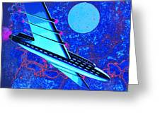 Hyperspace Greeting Card