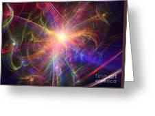 Hypervelocity Star Greeting Card