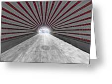 Hypnotic Playmates Arch Greeting Card