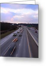 I-75 Knoxville At Dusk Greeting Card
