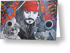 I Am Captain Jack Sparrow Greeting Card