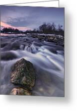 I Follow River Greeting Card by Davorin Mance