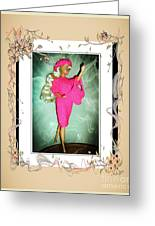I Had A Great Time - Fashion Doll - Girls - Collection Greeting Card