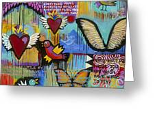 I Have Wings To Fly Greeting Card by Carla Bank