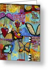 I Have Wings To Fly Greeting Card