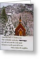 I Heard The Bells Greeting Card