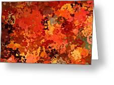 I Love Autumn Greeting Card