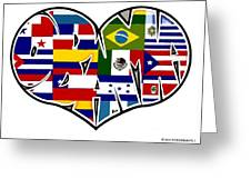 I Love Immigration Reform Greeting Card by Alexis Heath