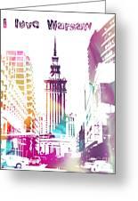 I Love Warsaw Greeting Card
