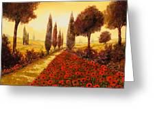 I Papaveri In Estate Greeting Card