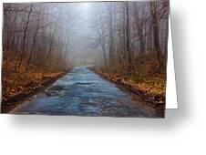 I Walk A Lonely Road Greeting Card
