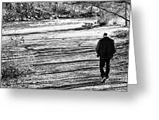 I Walk Alone Greeting Card
