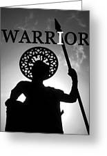 I Warrior Greeting Card