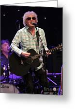 Ian Hunter And The Rant Band Greeting Card