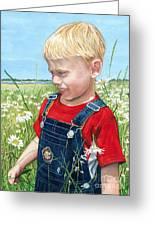 Ian's Field Of Dreams Greeting Card