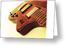 Ibanez Jk 4 Greeting Card