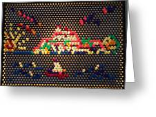 Ibiza Lite Brite Greeting Card
