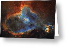 Ic 1805, The Heart Nebula In Cassiopeia Greeting Card