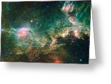 Ic 2177-seagull Nebula Greeting Card