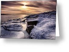 Ice Age Greeting Card
