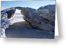 Ice Arch Greeting Card