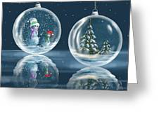 Ice Balls Greeting Card