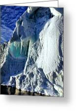 Ice Berg Up Close And Personal Greeting Card