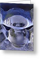 Ice Bowls Greeting Card
