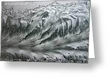 Ice Breaker Waves Greeting Card