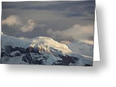 Ice-capped Mountains Anvers Island Greeting Card