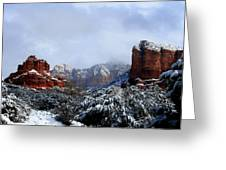 Ice Castles Greeting Card