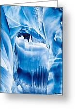 Ice Castles Painting Greeting Card