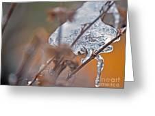 Ice Drop Greeting Card