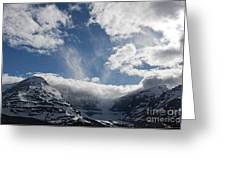 Ice Field Parkway Greeting Card