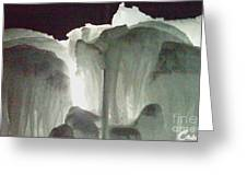 Ice Flow 10 Greeting Card