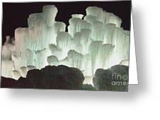 Ice Flow 13 Greeting Card