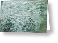 Ice Formations IIi Greeting Card