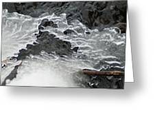 Ice Formations Viii Greeting Card