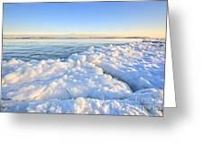 Ice Goosebumps Greeting Card