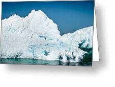 Ice Iv Greeting Card by David Pinsent