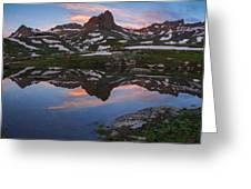 Ice Lakes Basin Sunrise Greeting Card