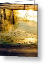Ice On The River Greeting Card