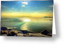 Ice Path Greeting Card
