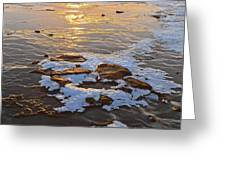 Ice Rocks Greeting Card