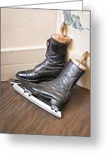 Ice Skates Greeting Card