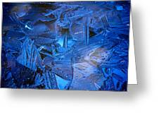 Ice Slace Greeting Card