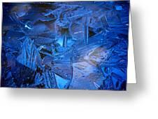 Ice Slace Greeting Card