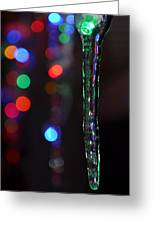 Ice Storm Christmas  Greeting Card